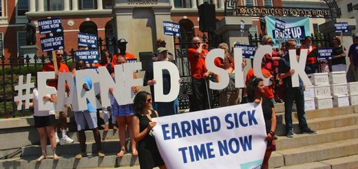 paid-sick-leave-protest
