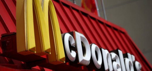 SAN FRANCISCO, CA - APRIL 22:  A sign is posted on the exterior of a McDonald's restaurant on April 22, 2015 in San Francisco, California. McDonald's reported a decline in first quarter revenues with a profit of $811.5 million, or 84 cents a share compared to $1.2 billion, or $1.21 a share, one year ago.  (Photo by Justin Sullivan/Getty Images)