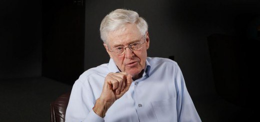 May 22, 2012 - Wichita, KS, USA - Charles Koch, 76, speaks during an interview, May 22, 2012, in his office at Koch Industries in Wichita, Kansas, where Koch Industries manages 60,000 employees in 60 countries. (Credit Image: © Bo Rader/MCT/ZUMAPRESS.com)